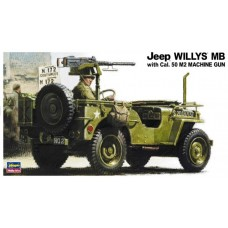 Jeep Willys MB with Cal.50 M2 MG + Eduard ets.