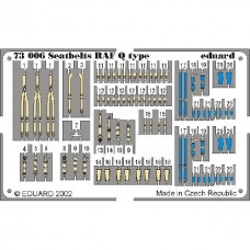 Eduard Seatbelts RAF Q type 1/72