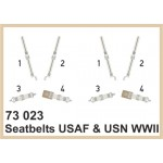 Eduard Seatbelts USAAF & USN WWII 1/72 Super Fabric