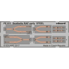 Eduard Seatbelts RAF Early Steel 1/48