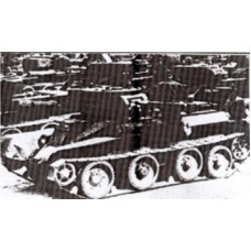 Turrets for BT-5 Model 1933/BT-5A C.S. Tank (2 turrets)
