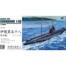 Japanese Navy Submarine I-58