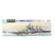 British Battleship Prince of Wales. Battle of Malaya