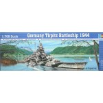 German Tirpitz Battleship 1944