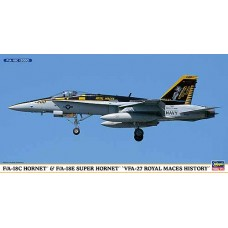"F/A-18C Hornet & F/A-18E Super Hornet ""VFA-27 Royal Maces History"""