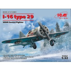 I-16 type 29 WWII Soviet Fighter