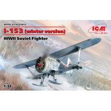 I-153 (Winter Version) WWII Soviet Fighter