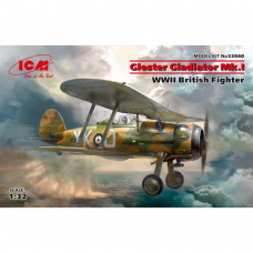 Gloster Gladiator Mk.I WWII British Fighter