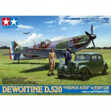 D.520 French Aces w/Staff car