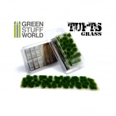 GSW Grass Tufts 6mm Dark Green