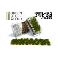 GSW Grass Tufts 6mm Dry Green