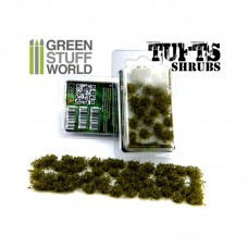 GSW Tufts Dark Green Schrubs 6mm