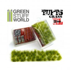 GSW Grass Tufts 12mm XL Realistic Green