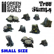 Small Tree Stumps