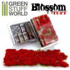 GSW Blossom Tufts Flowers Red 6mm