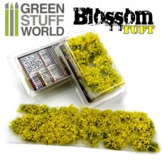 GSW Blossom Tufts Flowers Yellow 6mm