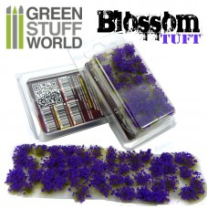 GSW Blossom Tufts Flower Purple 6mm