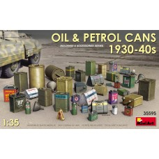 Oil & Petrol Cans 1930-40s
