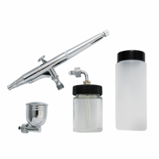 Airbrush DH-125, 0,5mm Gravity-feed 7, 22 & 80cc