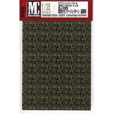 MC decals JGSDF Camouflage Scema