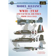 WWII - 2 TAF. 2nd Tactical Air Force 1944-1945 1/48 decals