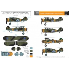 Gloster Gladiator Mk.II in Finnish Service 1/48 decals