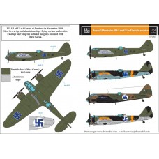 Bristol Blenheim MK.I & II in Finnish Service 1/72 decals