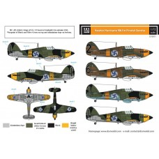 Hawker Hurricane Mk.I in Finnish Service 1/72 decals