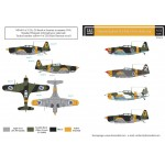 Morane-Saulnier M.S.406 in Finnish Service 1/72 decals