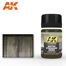 AK 014 Winter Streaking Grime. Grey Brown for Winter Vehicles