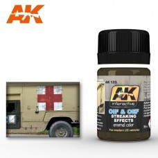 AK 123 OIF & OFF Streaking Effects for Modern US Vehicles