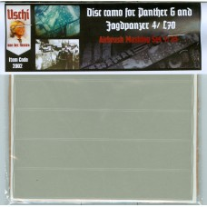 Disc Camo for Panther G & Jagdpanzer 4 / L70 Airbrush masking set 1/35