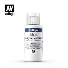 Vallejo 26.518 Matt Acrylic Varnish 60ml (quick dry)