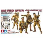 WWI British Infantry w/Small Arms & Equipment
