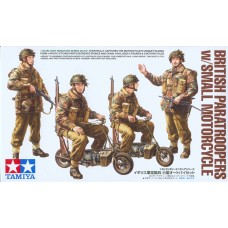 British Paratroopers w/Small Motorcycle