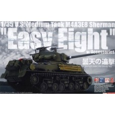 "U.S. Medium Tank M4A3E8  Sherman ""Easy Eight"" w/Accessories"