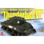 "U.S. Medium Tank M4A3 (76)W Sherman ""Thunderbolt VI)"