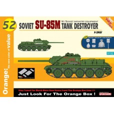 Soviet SU-85M Tank Destroyer w/Soviet Infantry Equipment