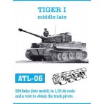 Friulmodel Tiger I middle-late track