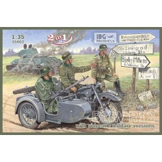 BMW R12 w/sidecar military versions
