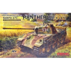 German Medium Tank Sd.Kfz.171 Panther Ausf.A Late