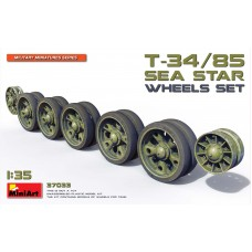 T-34/85 Sea Star Wheel Set