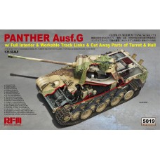 *Tulossa* Panther Ausf.G with full interior & cut away parts