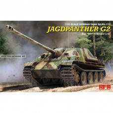 German Tank Sd.Kfz.173 Jagdpanther G2 w/Full Interior kit
