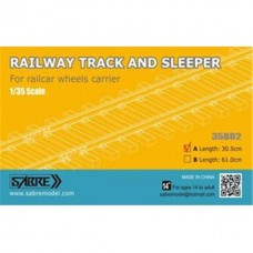 Railway Track and Sleeper 30,5cm
