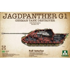 German Tank Destroyer Sd.Kfz.173 Jagdpanther G1 Late Production. Full Interior