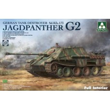 *Tulossa* Jagdpanther G2 German Tank Destroyer Sd. Kfz.173 w/full interior kit