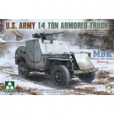 U.S. Army 1/4 Ton Armored Truck