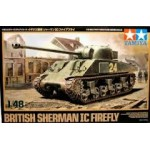 British Sherman IC Firefly + quick wheel mask