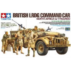British LRDG Command Car North Africa (w/7 figures)